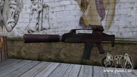 XM8 Compact Red pour GTA San Andreas