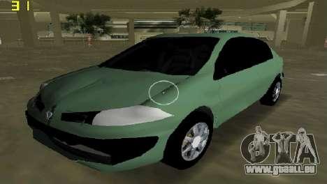 Renault Megane Sedan 2001 für GTA Vice City