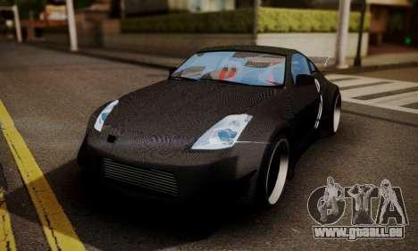 Nissan 350z Angel Beast Itasha Edition für GTA San Andreas Unteransicht