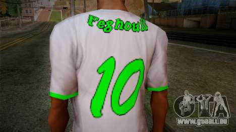 Algerian Football T-Shirt für GTA San Andreas dritten Screenshot