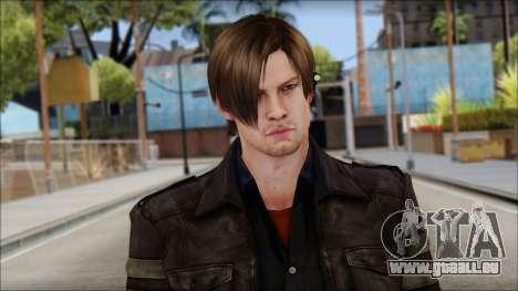 Leon Kennedy from Resident Evil 6 v3 für GTA San Andreas dritten Screenshot