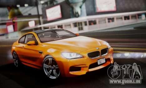 BMW M6 F13 2013 pour GTA San Andreas