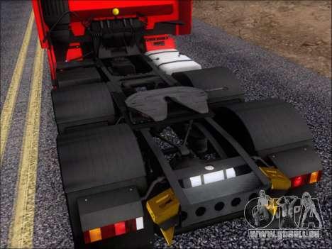 Iveco Stralis HiWay 560 E6 6x4 pour GTA San Andreas vue de dessous