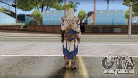 Connor Kenway Assassin Creed III v1 pour GTA San Andreas deuxième écran