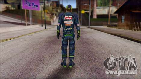 Piers Azul Gorra pour GTA San Andreas deuxième écran