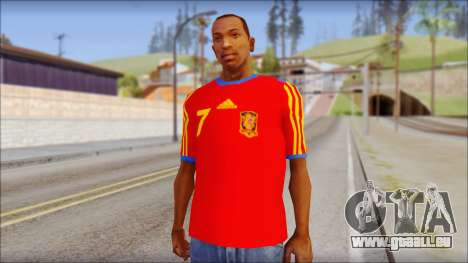 Spanish Football Shirt für GTA San Andreas