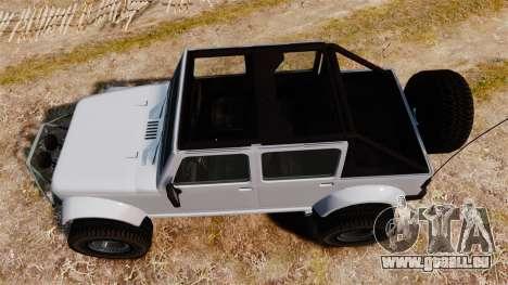 Merryweather Mesa für GTA 4 rechte Ansicht