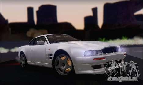 Aston Martin V8 Vantage V600 1998 pour GTA San Andreas sur la vue arrière gauche