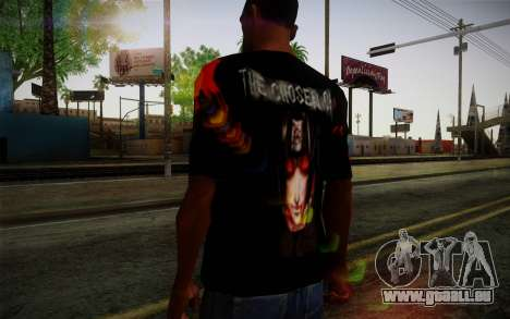 Uchiha Itachi T-Shirt für GTA San Andreas dritten Screenshot