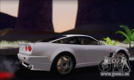 Aston Martin V8 Vantage V600 1998 pour GTA San Andreas vue de droite