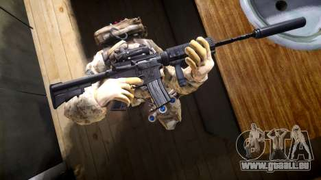 M4A1 V1.1 pour GTA 4