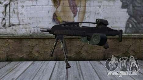 XM8 LMG Black für GTA San Andreas