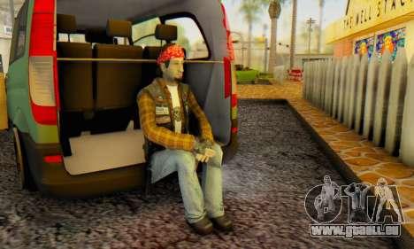 Biker A7X 2 pour GTA San Andreas quatrième écran