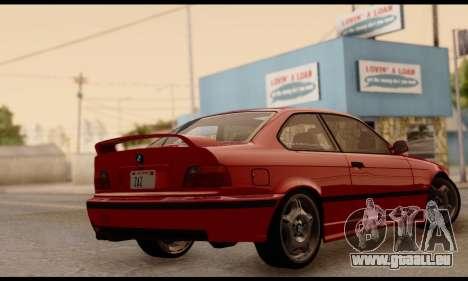 BMW M3 E36 1994 pour GTA San Andreas laissé vue