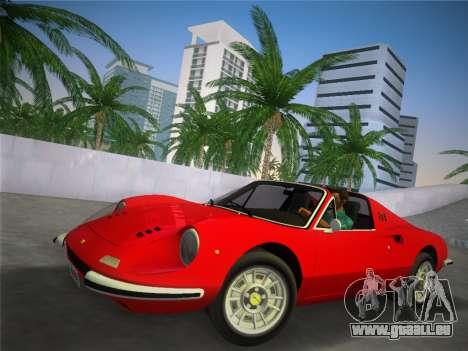 Ferrari 246 Dino GTS 1972 pour GTA Vice City