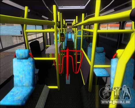 Neobus Mega IV - TCA (Araras) für GTA San Andreas Seitenansicht