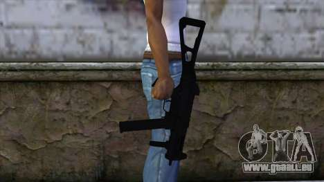 UMP-45 from CS:GO v2 für GTA San Andreas dritten Screenshot