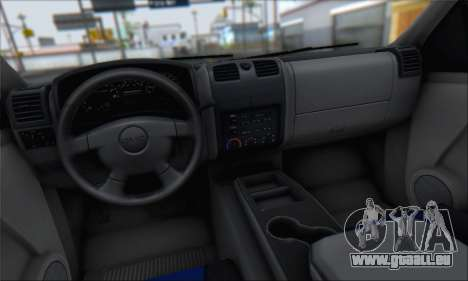 Chevrolet Colorado Cleaning für GTA San Andreas Seitenansicht
