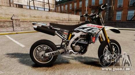 Yamaha YZF-450 v1.10 pour GTA 4 est une gauche