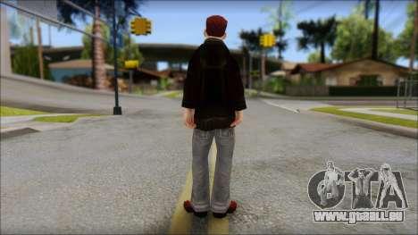 Vance from Bully Scholarship Edition pour GTA San Andreas deuxième écran