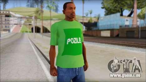 Pozilei T-Shirt pour GTA San Andreas