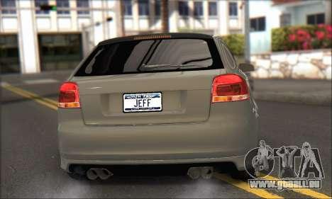 Audi S3 2006 Custom für GTA San Andreas linke Ansicht