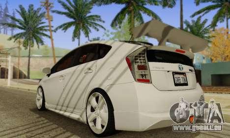 Toyota Prius Tunable pour GTA San Andreas vue de droite