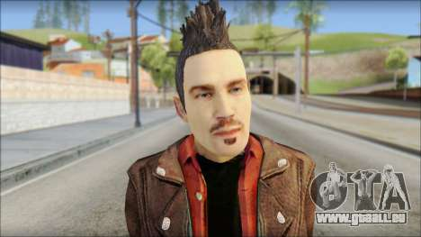 Biker from Avenged Sevenfold 3 für GTA San Andreas dritten Screenshot