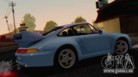 Porsche 911 GT2 (993) 1995 V1.0 SA Plate pour GTA San Andreas roue