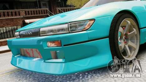 Nissan Silvia S13 v1.0 für GTA 4 hinten links Ansicht