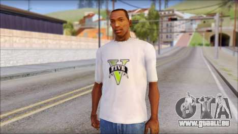 GTA 5 Fan T-Shirt pour GTA San Andreas