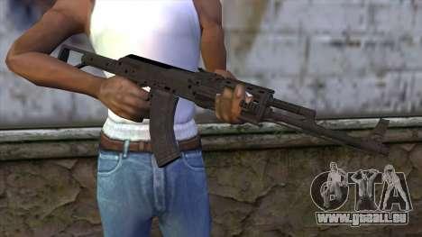 Assault Rifle from GTA 5 für GTA San Andreas dritten Screenshot