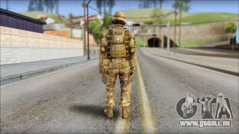 Desert GRU from Soldier Front 2 für GTA San Andreas zweiten Screenshot