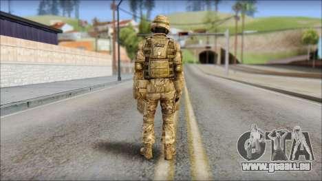 Desert GRU from Soldier Front 2 für GTA San Andreas zweiten Screenshot