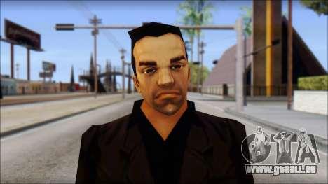 Toni Cipriani v2 pour GTA San Andreas troisième écran