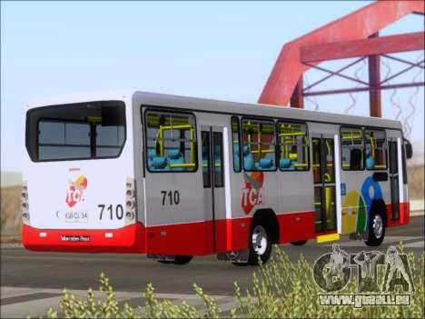 Neobus Mega IV - TCA (Araras) für GTA San Andreas rechten Ansicht
