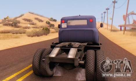 ZIL V pour GTA San Andreas vue de droite