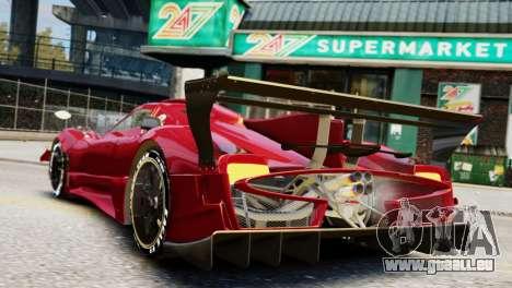 Pagani Zonda Autosport pour GTA 4 est une gauche