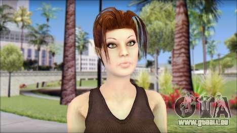 Best Lara Croft pour GTA San Andreas troisième écran