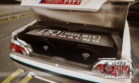 Peugeot Pars Limouzine pour GTA San Andreas vue de côté