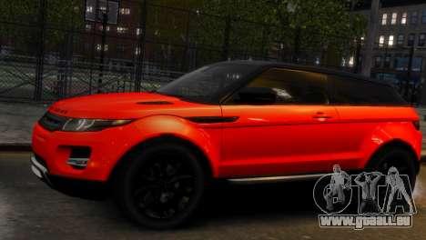 Land Rover Range Rover Evoque pour GTA 4