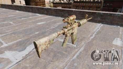Automatic carbine ABER Guerilla-Camo für GTA 4 Sekunden Bildschirm