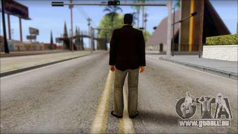 Toni Cipriani v2 pour GTA San Andreas deuxième écran