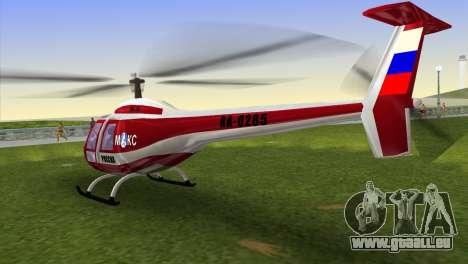 Mi-34 pour une vue GTA Vice City de la gauche