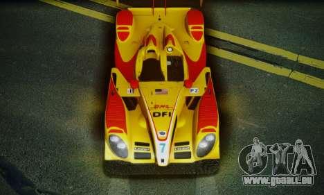 Porsche RS Spyder Evo 2008 pour GTA San Andreas salon