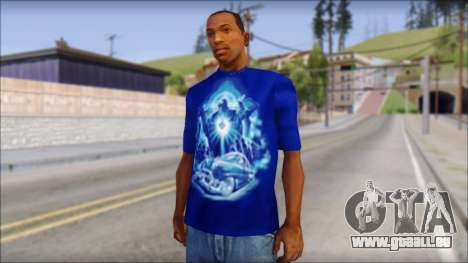 Lowrider Blue T-Shirt für GTA San Andreas