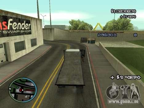 Évacuateur v1.0 pour GTA San Andreas septième écran