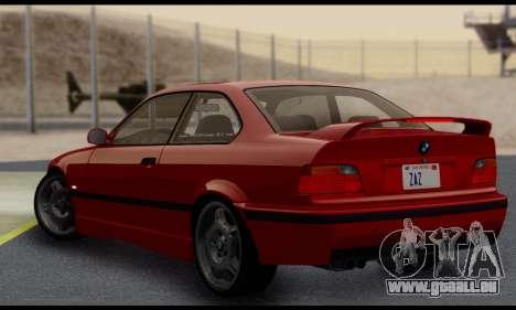 BMW M3 E36 1994 pour GTA San Andreas vue de droite