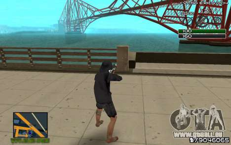 C-HUD by SampHack v.8 für GTA San Andreas zweiten Screenshot
