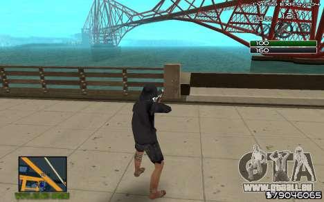 C-HUD by SampHack v.8 pour GTA San Andreas deuxième écran